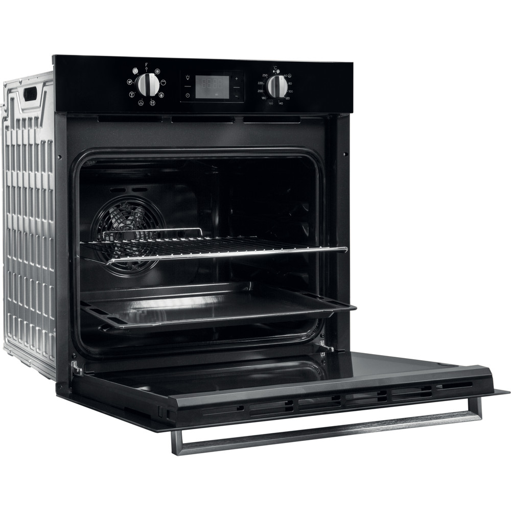 Indesit OVEN Built-in IFW 6340 BL UK Electric A Perspective open