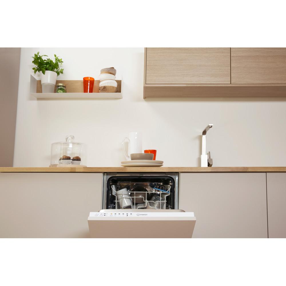 Indesit Посудомийна машина Вбудований (-а) DISR 14B EU Вбудована A Lifestyle control panel