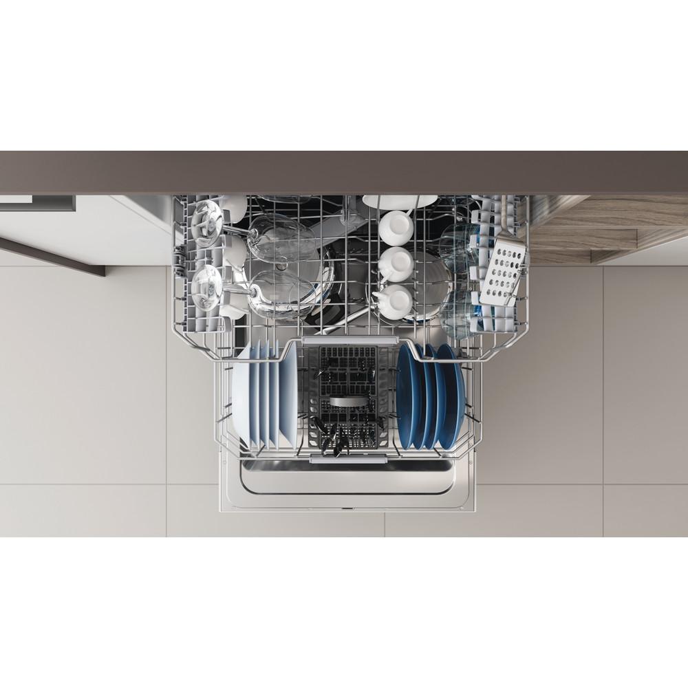 Indesit Vaatwasser Ingebouwd DIC 3C24 Volledig geïntegreerd E Rack