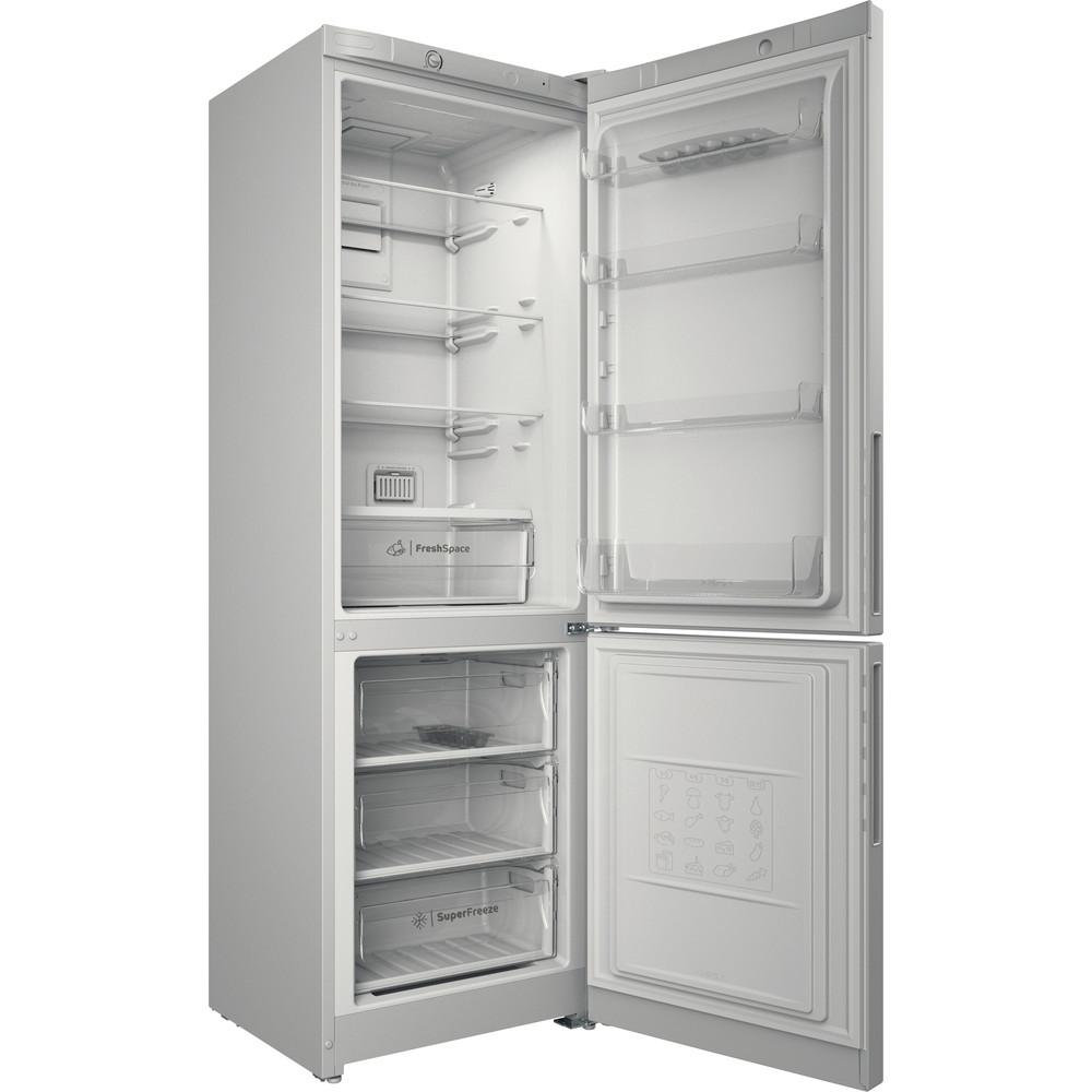 Indesit Холодильник с морозильной камерой Отдельностоящий ITD 4180 W Белый 2 doors Perspective open