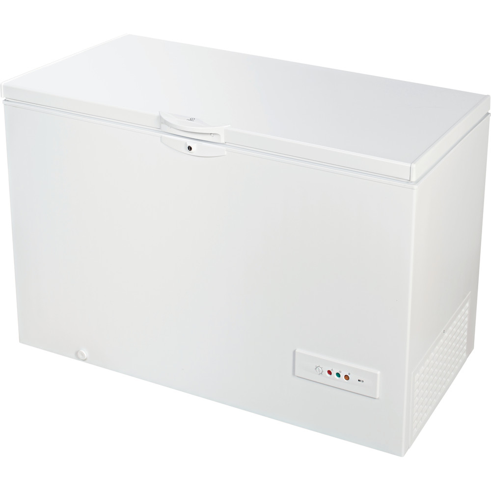 Indesit Congelador Livre Instalação OS 1A 400 H 1 Branco Perspective