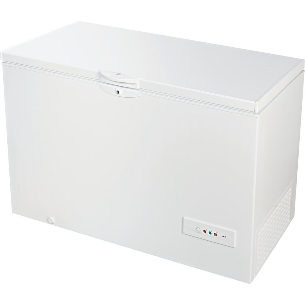 Indesit Congelatore A libera installazione OS 1A 400 H 1 Bianco Perspective