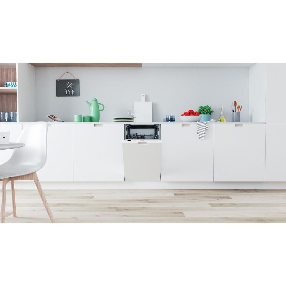 Indesit Lave-vaisselle Encastrable DSIC 3M19 Tout intégrable F Lifestyle frontal