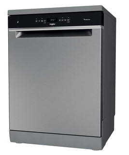 Whirlpool mosogatógép: Inox szín, normál méretű - WFO 3O32 N P X