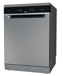 Whirlpool pomivalni stroj: Inox barva, Standardna širina - WFO 3O32 N P X