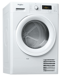Whirlpool Wärmepumpentrockner: freistehend, 8 kg - FT M11 8X3 EU