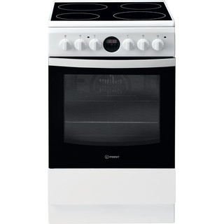 Indesit Готварска печка IS5V5CCW/E Бял Electrical Frontal
