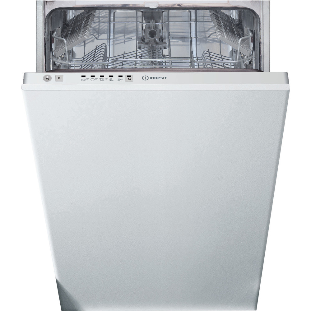 Indesit Dishwasher Built-in DSIE 2B10 UK N Full-integrated A+ Frontal
