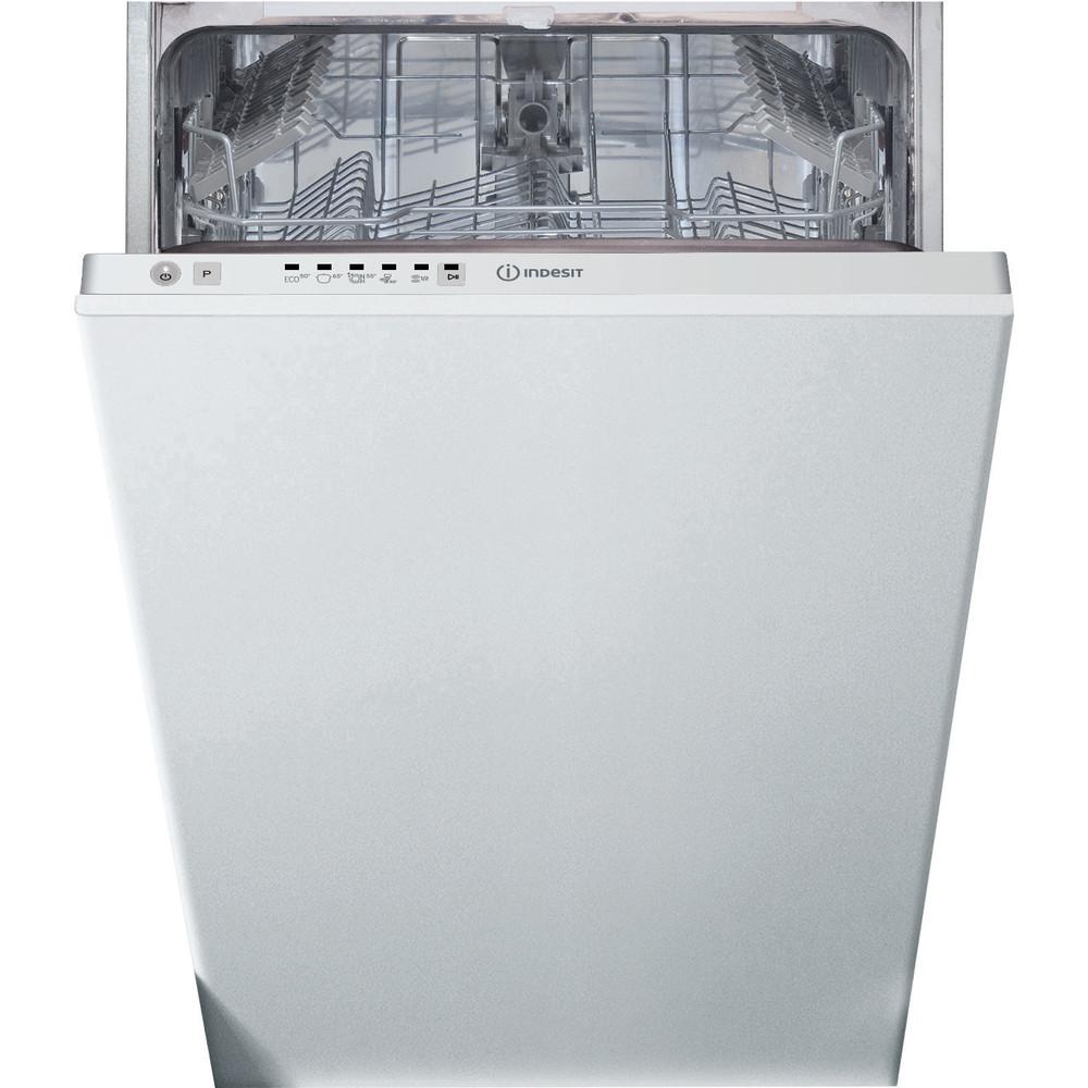 Indesit Dishwasher Built-in DSIE 2B10 UK N Full-integrated F Frontal