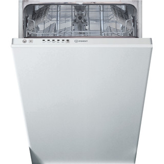 Indesit Dishwasher Built-in DSIE 2B10 UK N Full-integrated F Frontal