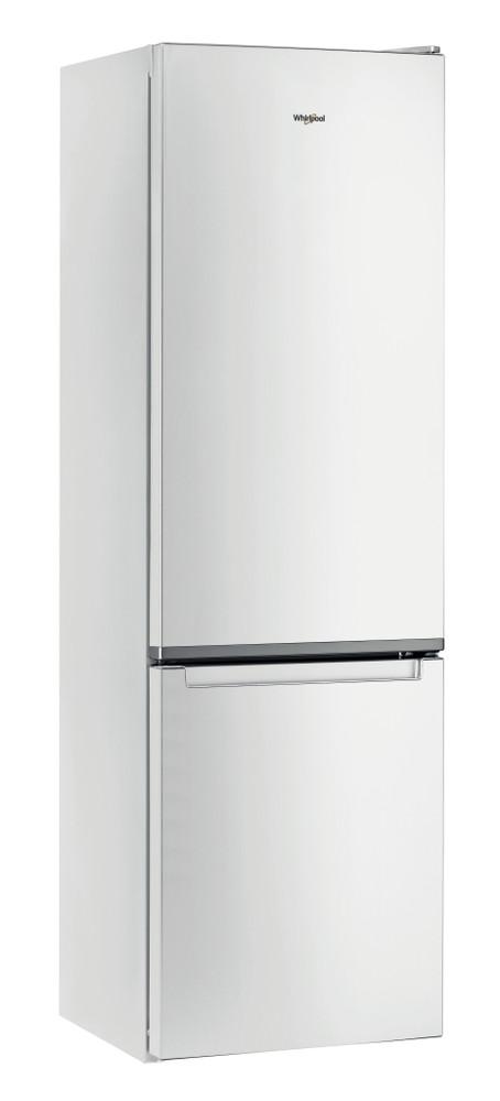 Whirlpool Fridge/freezer combination Samostojeća W5 911E W Bela 2 vrata Perspective
