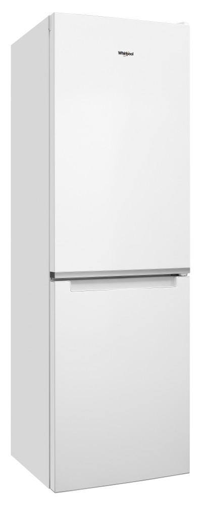 Whirlpool Комбиниран хладилник с камера Свободностоящи W7 811I W Глобално бяло 2 врати Perspective