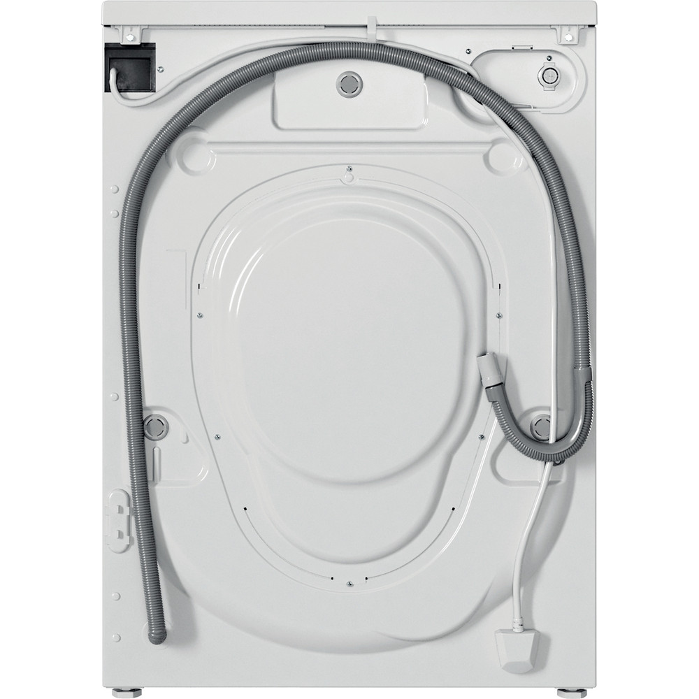 Indesit Perilica za rublje Samostojeći EWSC 61251 W EU N Bijela Prednje punjenje F Back / Lateral