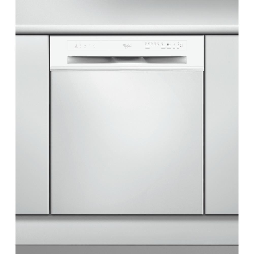 Whirlpool halvintegrerad diskmaskin: färg vit, 60 cm - ADG 7580/1 WH