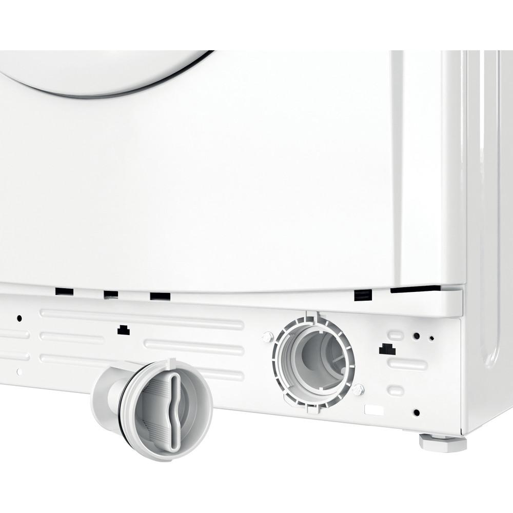 Indesit Wasdroger Vrijstaand EWDE 751451 W EU N Wit Voorlader Filter