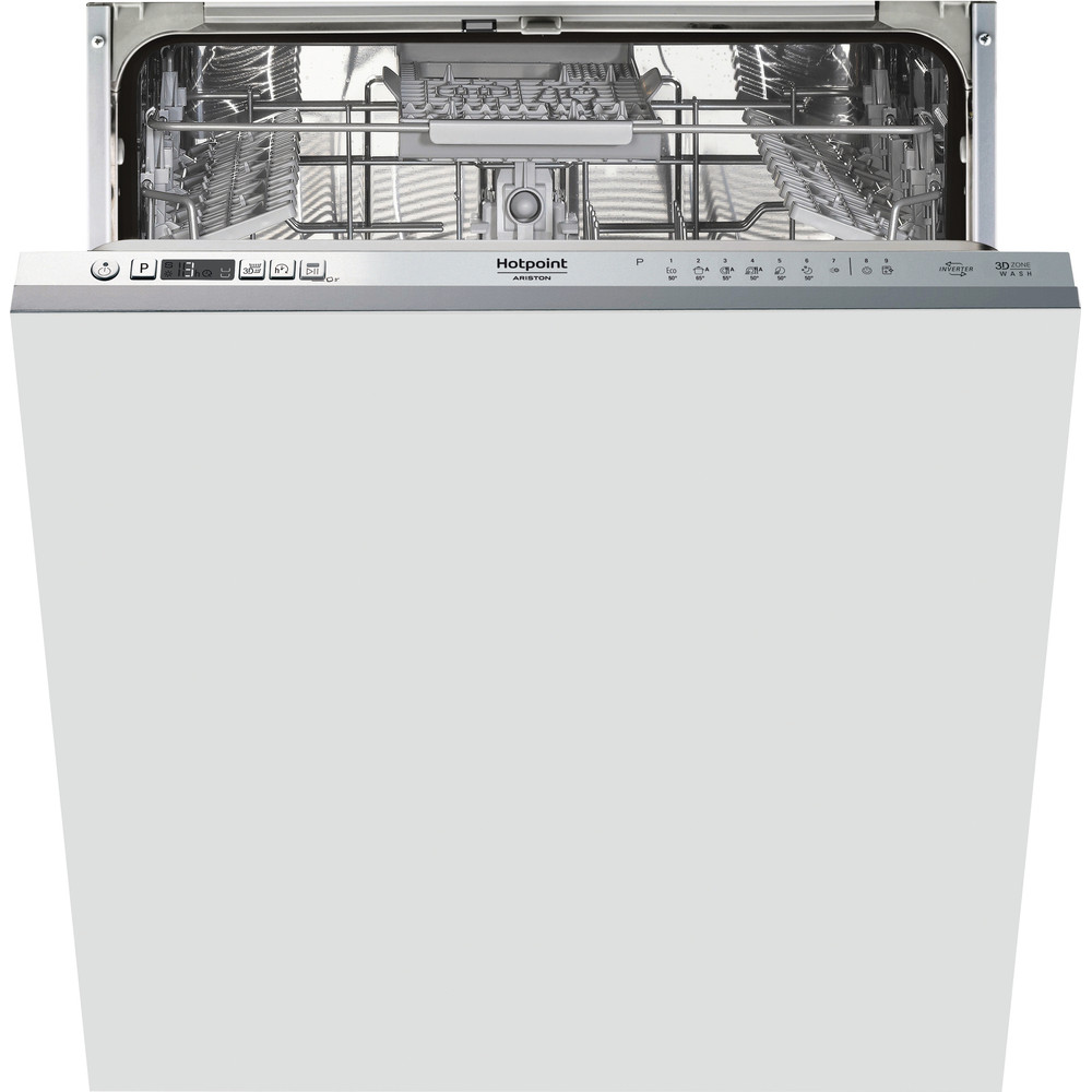 Hotpoint_Ariston Nõudepesumasin Integreeritav HIC 3C41 CW Full-integrated C Frontal