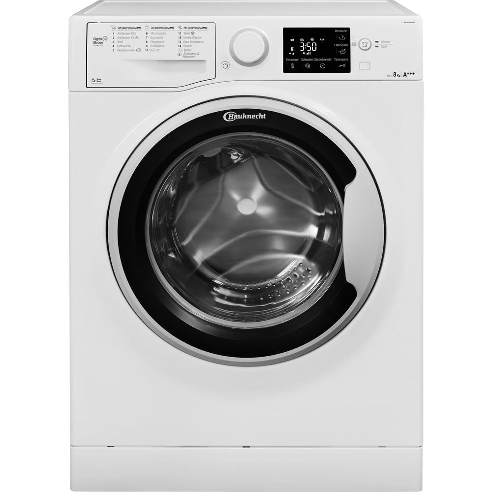 Bauknecht Waschmaschine Standgerät WM Sense 8G43PS Weiss Frontlader A+++ Frontal