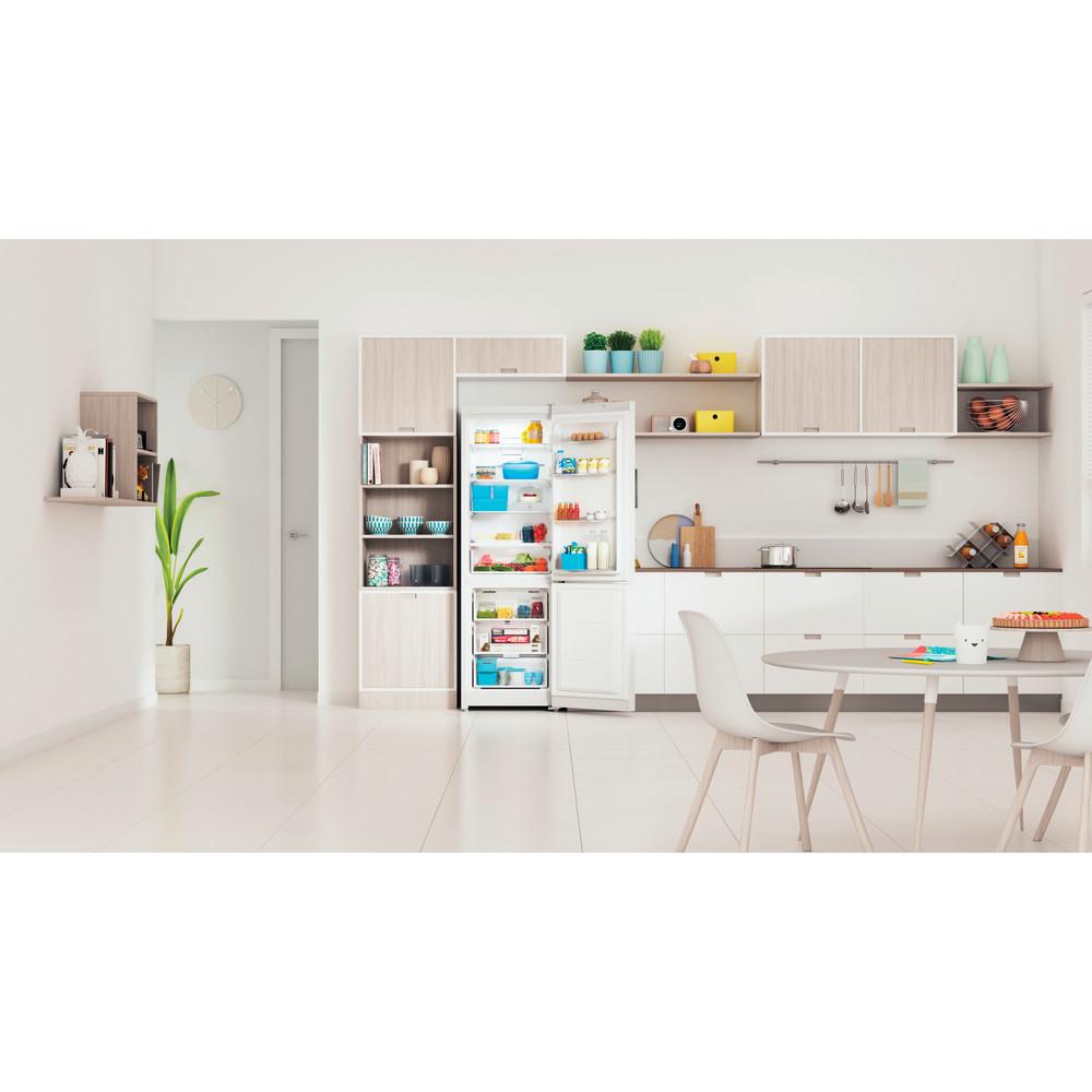 Indesit Холодильник с морозильной камерой Отдельно стоящий ITI 5181 W UA Белый 2 doors Lifestyle frontal open