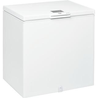 Whirlpool frysbox: färg vit - W 204 FO