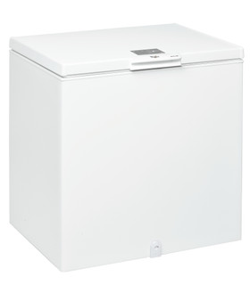 Fritstående Whirlpool-kummefryser: hvid farve - W 204 FO