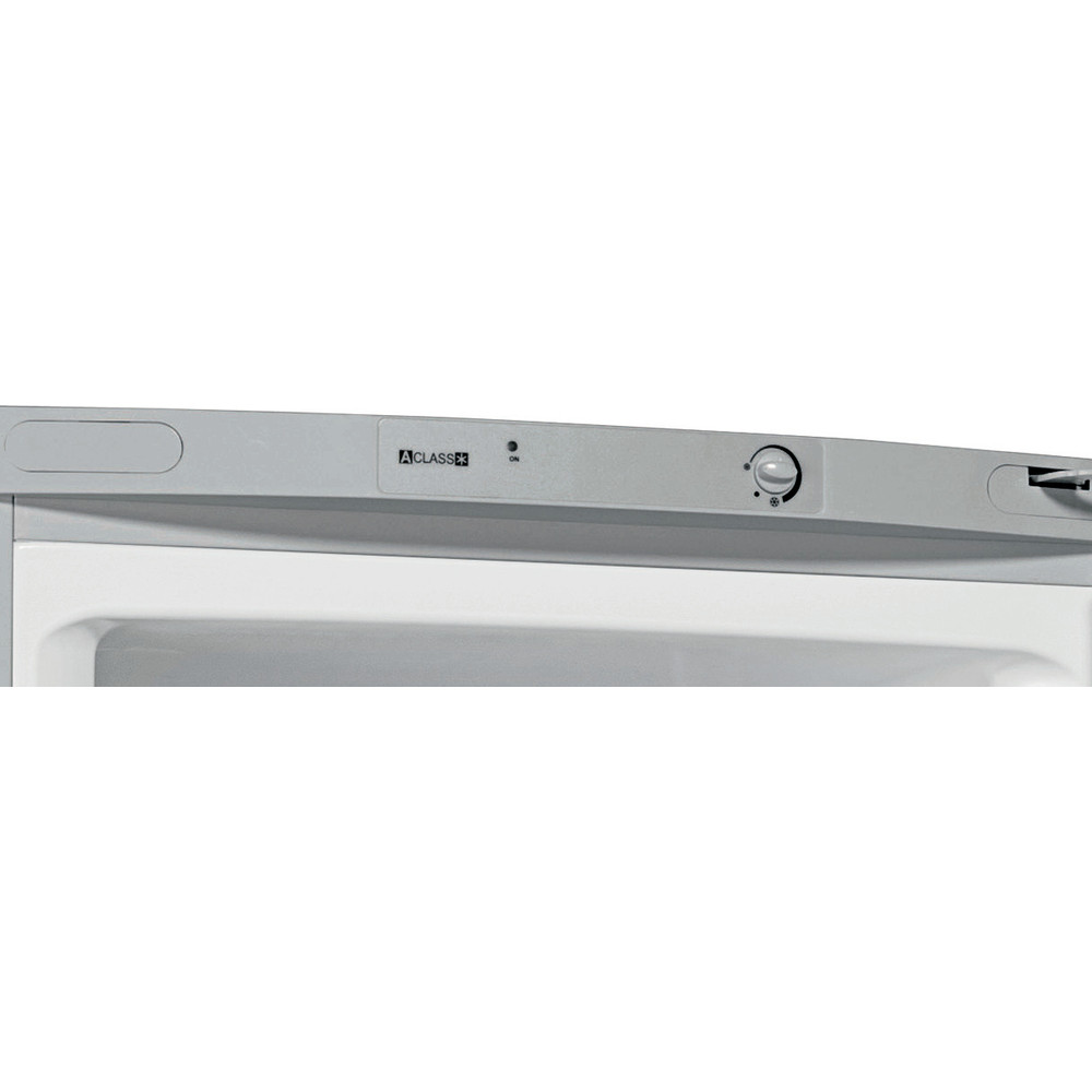 Indesit Холодильник с морозильной камерой Отдельностоящий RTM 16 S Серебристый 2 doors Control panel