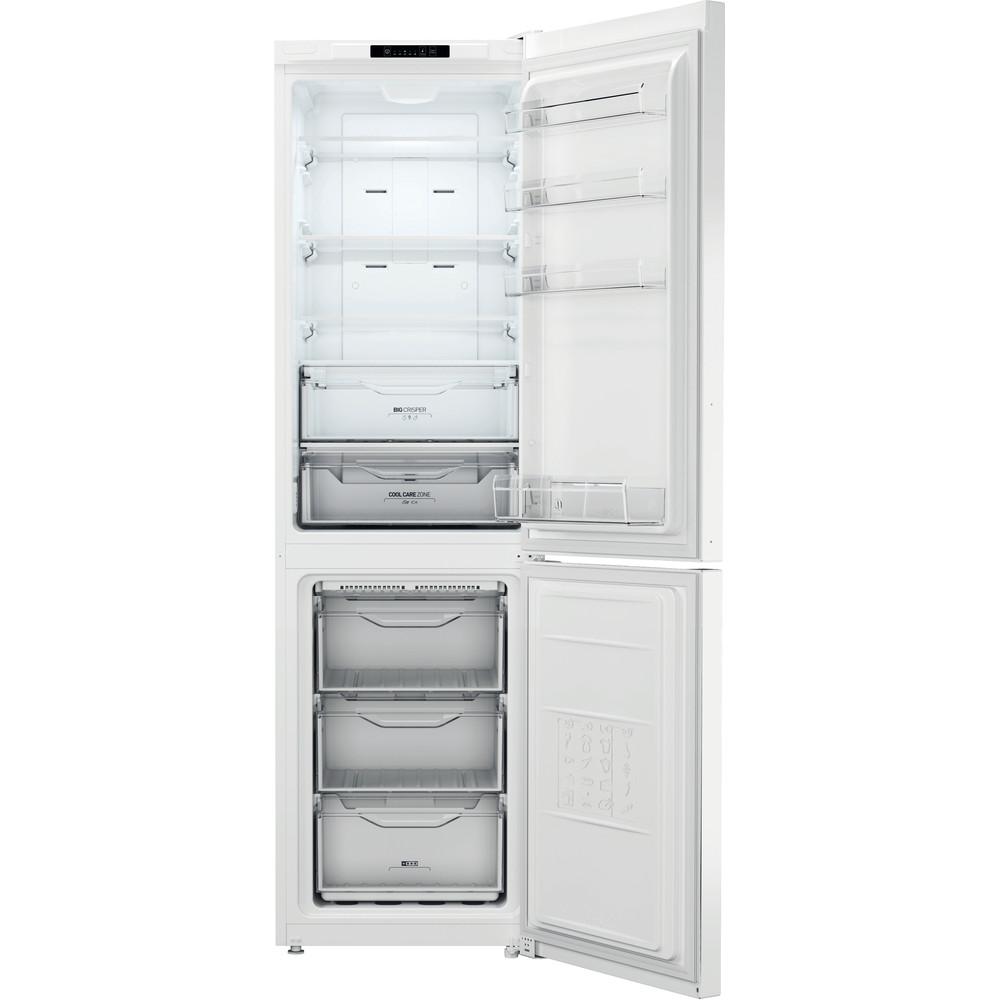 Indesit Combinación de frigorífico / congelador Libre instalación XI9 T2I W Blanco 2 doors Frontal open
