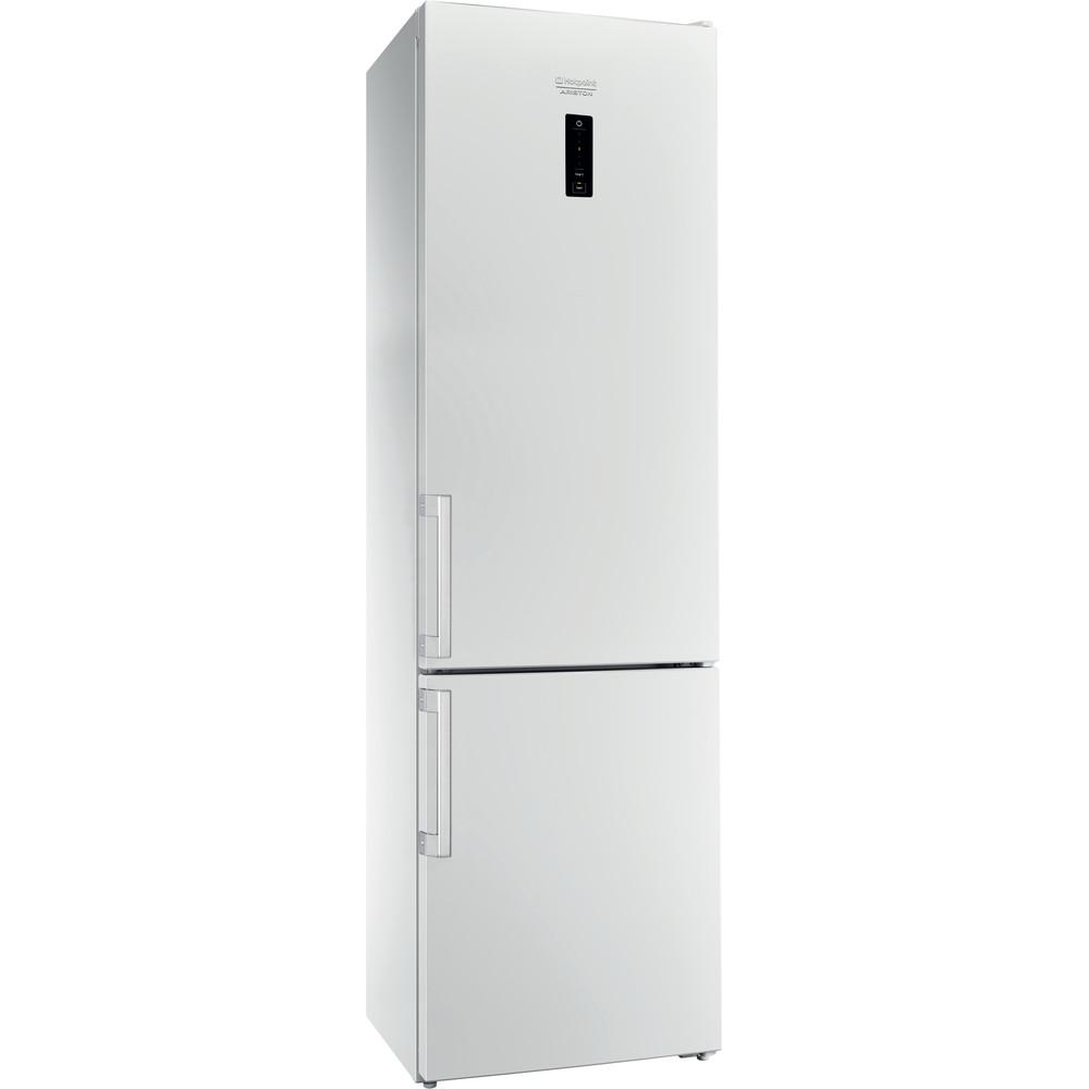 Hotpoint_Ariston Комбинированные холодильники Отдельностоящий HS 5201 W O Белый 2 doors Perspective