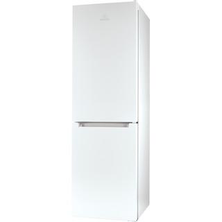 Indesit Kombinacija hladnjaka/zamrzivača Samostojeći LI8 SN2E W Bijela 2 doors Perspective