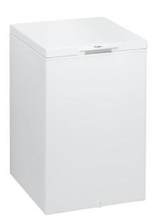 Congélateur coffre posable Whirlpool: couleur blanche - CF 20 2