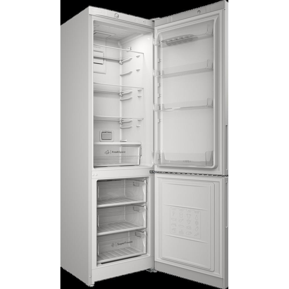 Indesit Холодильник с морозильной камерой Отдельностоящий ITR 4200 W Белый 2 doors Perspective open