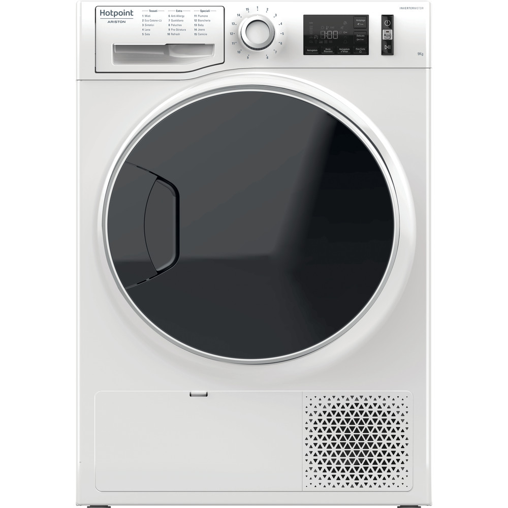 Hotpoint_Ariston Asciugabiancheria NT M11 9X3E IT Bianco Frontal