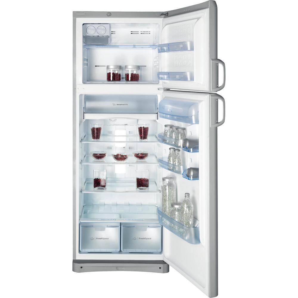Indesit Combinazione Frigorifero/Congelatore A libera installazione TAAN 6 FNF S1 Argento 2 porte Frontal open
