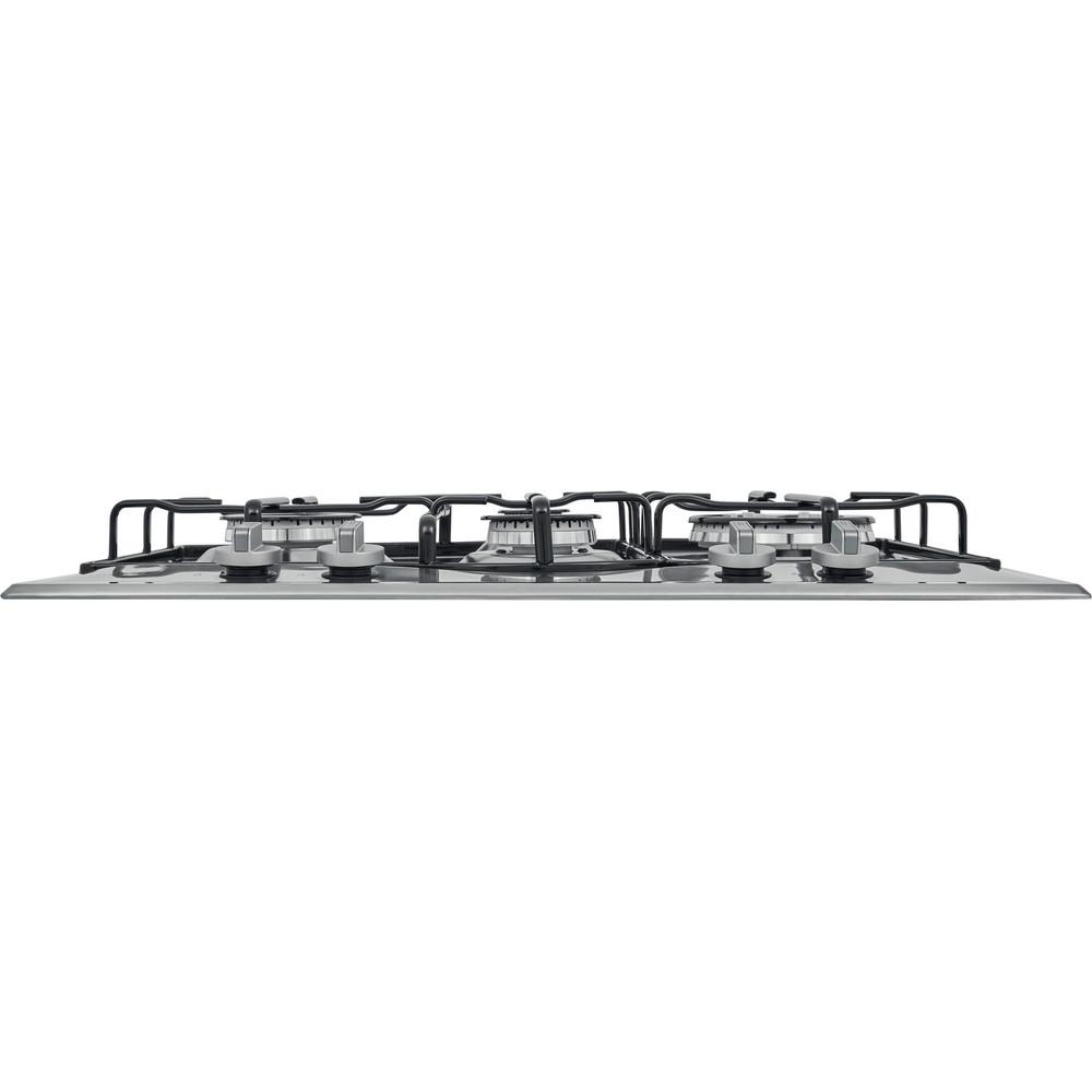 Hotpoint_Ariston Piano cottura PCN 642 T/IX/HAR Inox GAS Frontal