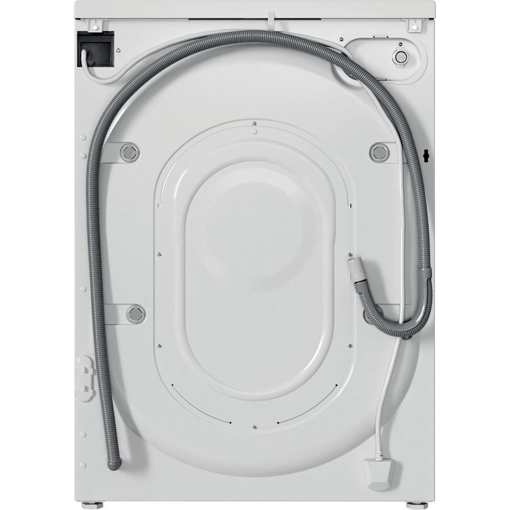 Indesit Pračka Volně stojící EWUD 41251 W EU N Bílá Front loader F Back / Lateral