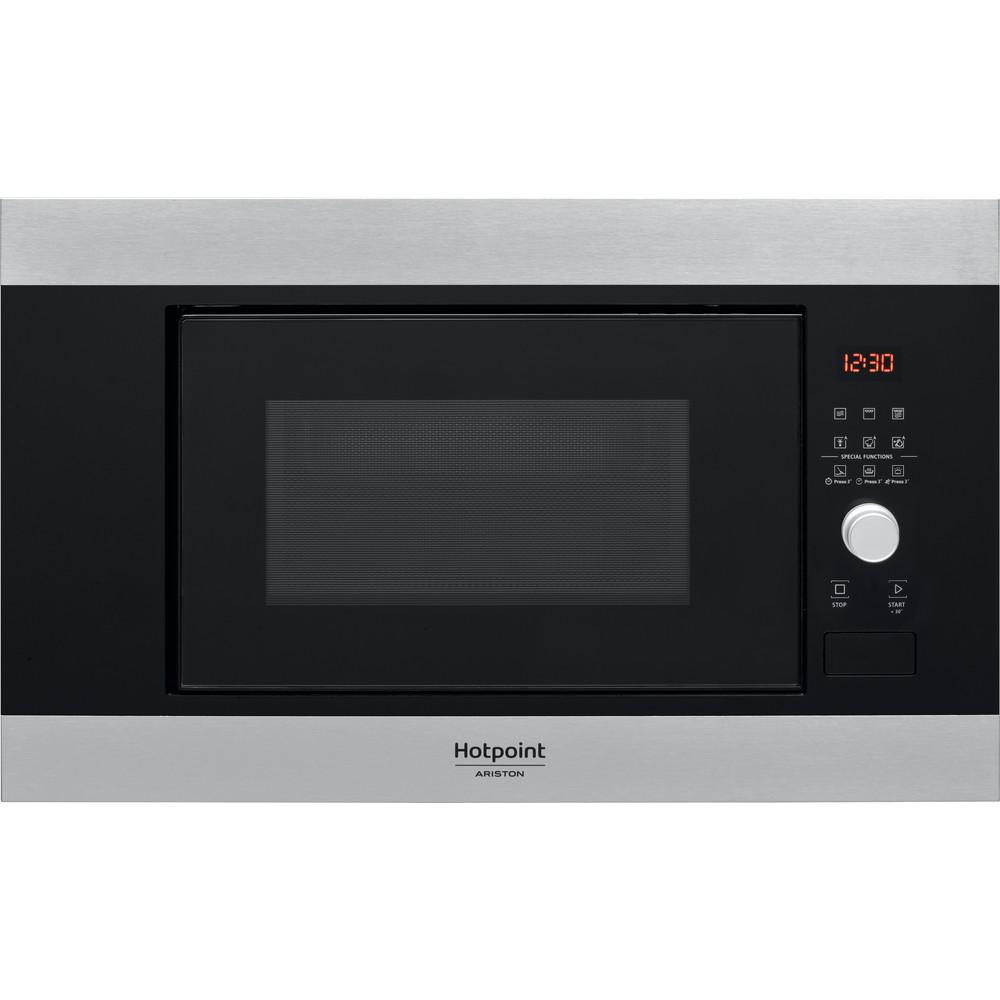 Hotpoint_Ariston Microondas Incorporado MF20G IX HA Inox Electrónico 20 función MW + Grill 800 Frontal