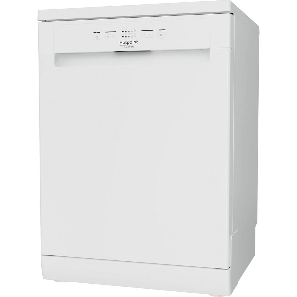 Hotpoint_Ariston Máquina de lavar loiça Livre Instalação HFC 2B19 Livre Instalação F Perspective
