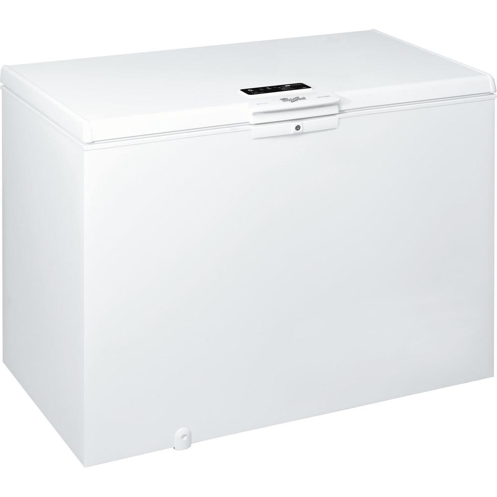 Congelador horizontal de libre instalación Whirlpool: color blanco - WHE3933