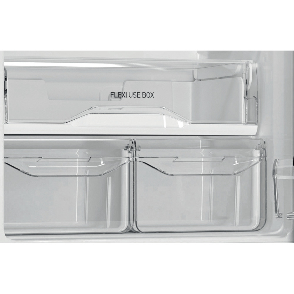 Indesit Холодильник с морозильной камерой Отдельностоящий DS 4180 B Черный 2 doors Drawer