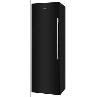 Морозильна камера Whirlpool соло (вертикальна): чорний колір - UW8 F2C KSB