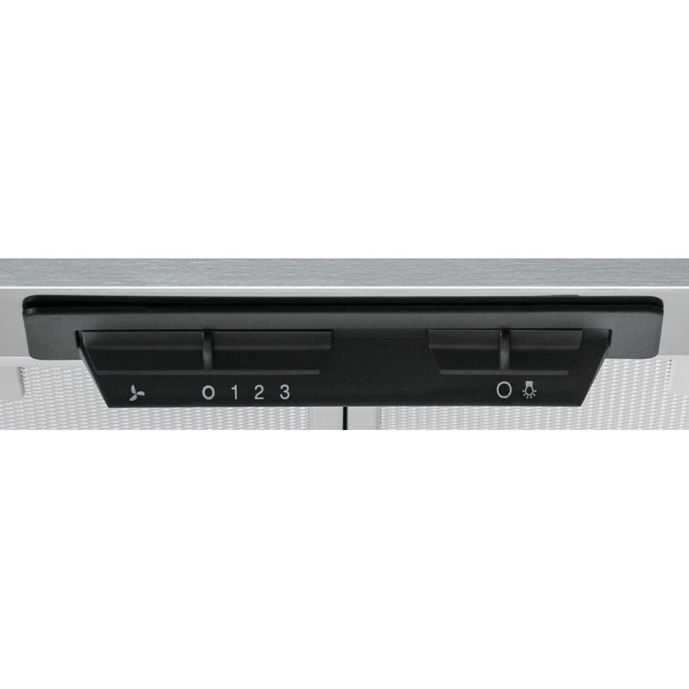 Indesit HOOD Free-standing UHPM 6.3F CS X/1 Inox Wall-mounted Mechanical Control panel