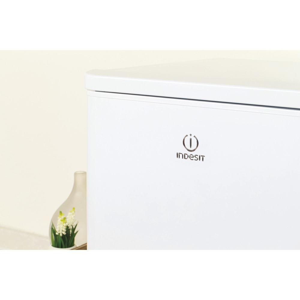 Indesit Combinazione Frigorifero/Congelatore A libera installazione NCAA 55 Bianco 2 porte Lifestyle detail