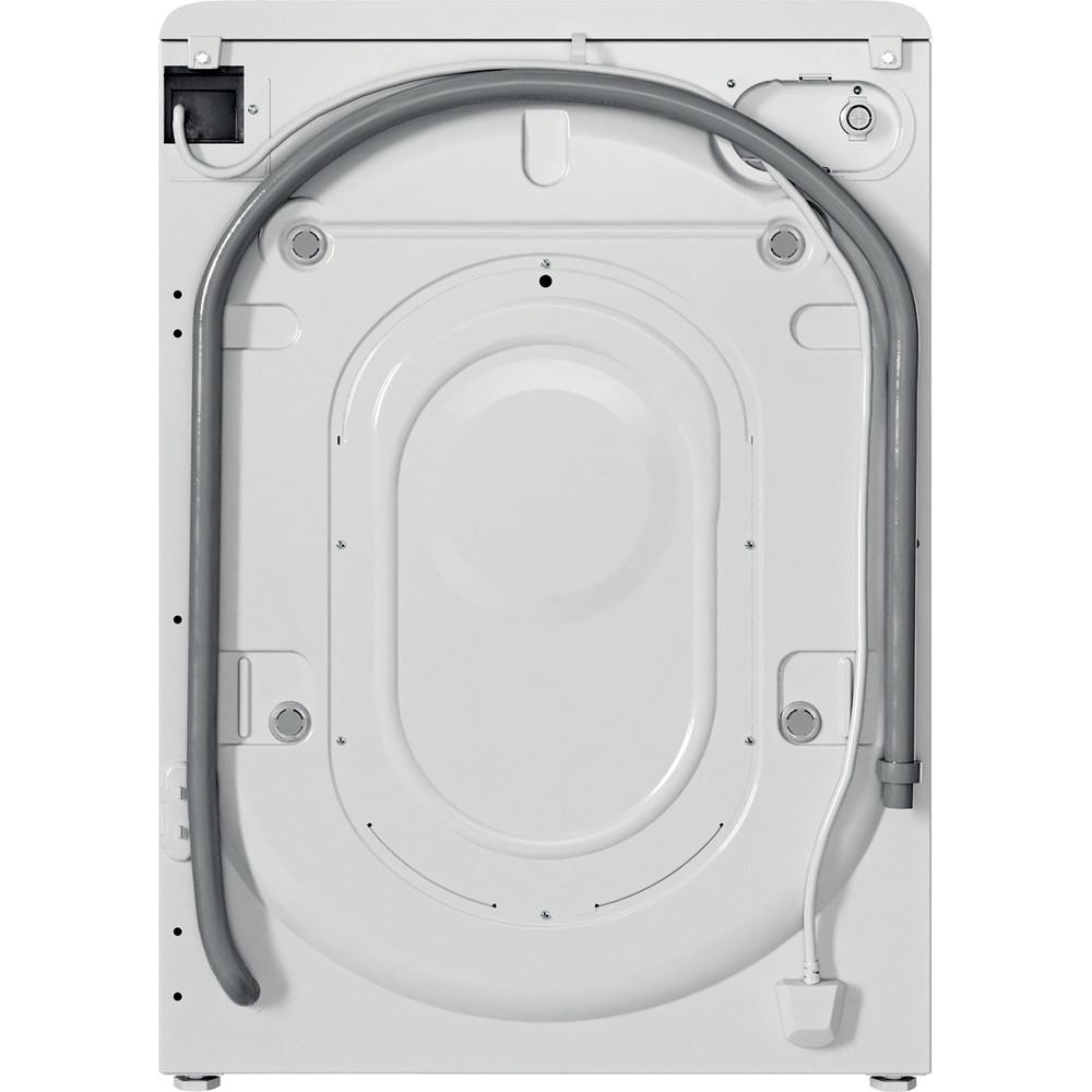 Indesit Pračka Volně stojící BWSA 51051 W EE N Bílá Front loader F Back / Lateral