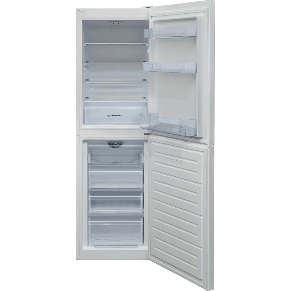 Indesit Fridge Freezer Free-standing IBNF 55181 W UK 1 White 2 doors Frontal open