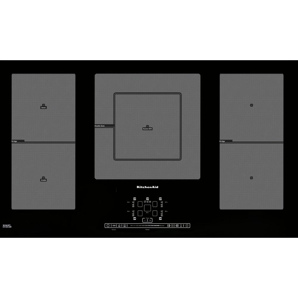 Misure Standard Piano Cottura Cucina piano cottura a induzione 90 cm khip5 90511 | sito ufficiale