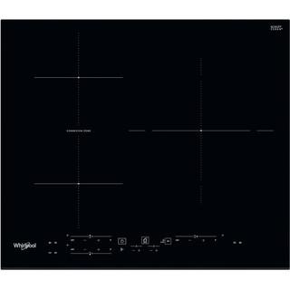 Placa de inducción Whirlpool - WB B3760 BF - 3 Zonas. Zona Grande 30cm