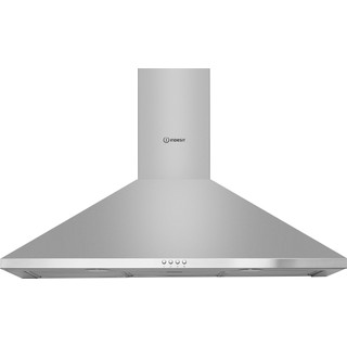 Indesit HOOD Built-in IHPC 9.5 LM X Inox Wall-mounted Mechanical Frontal