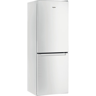 Whirlpool Kombinētais ledusskapis/saldētava Brīvi stāvošs W5 721E W 2 Spilgti balta 2 doors Perspective