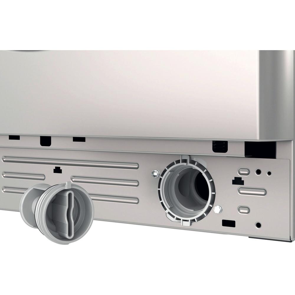 Indesit Washing machine Free-standing BWA 81483X S UK N Silver Front loader D Filter