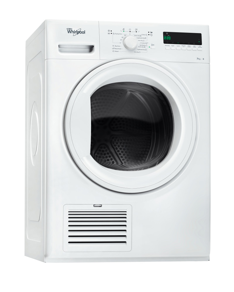 Whirlpool Dryer DDLX 70113 White Perspective
