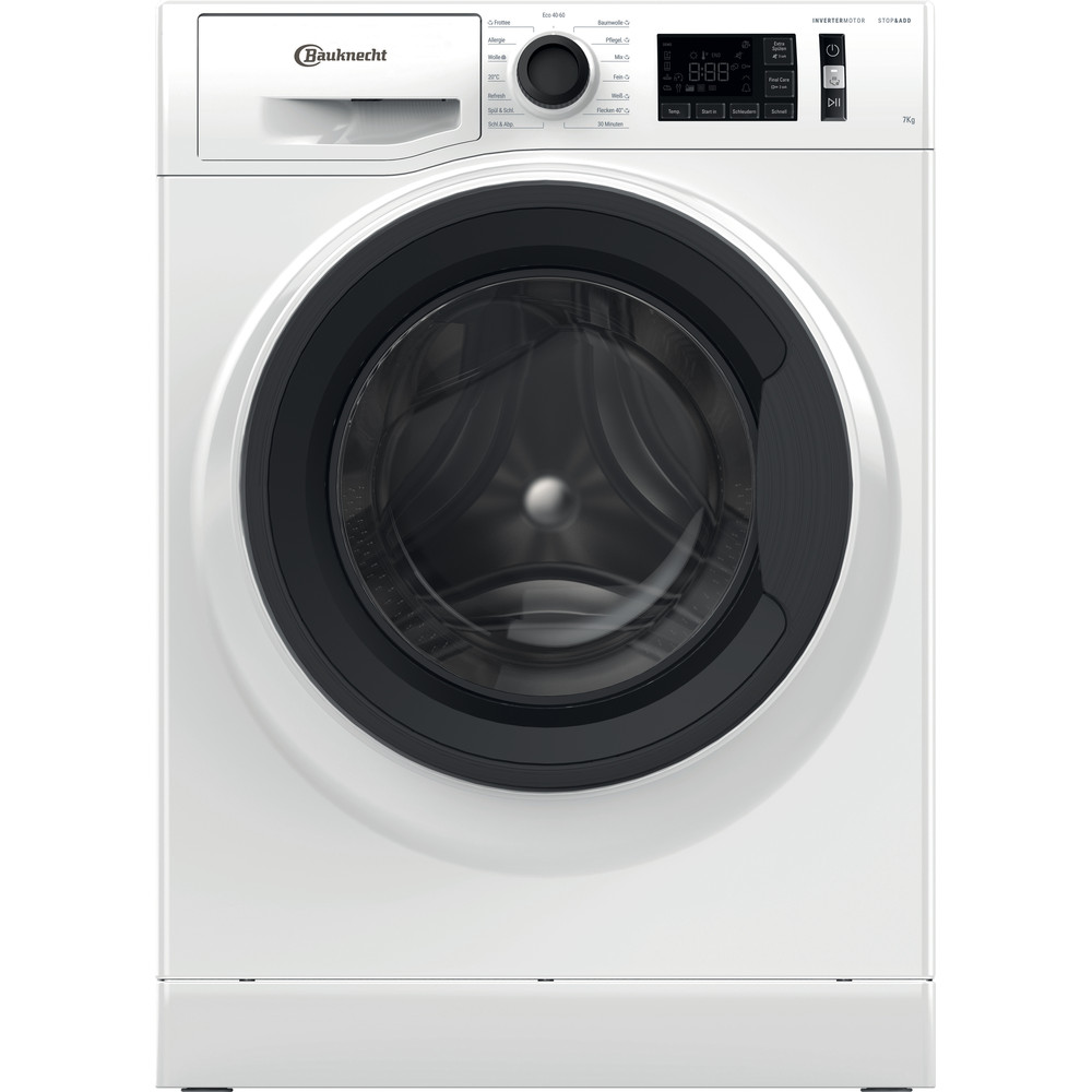 Bauknecht Waschmaschine Standgerät WM Elite 711 C Weiss Frontlader D Frontal